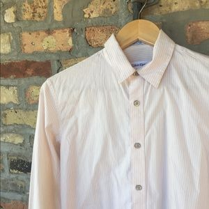 Calvin Klein xs slim fit pin stripe shirt